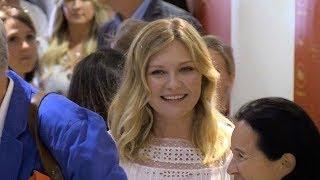 Download Nicole Kidman, Elle Fanning, Collin Farrell, Kristen Dunst inside the Palais des festival in Cannes Video