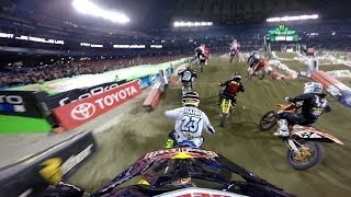 Download GoPro: James Stewart 14th to 1st - 2014 Monster Energy Supercross Toronto Video