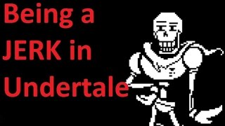 Download Being a jerk in Undertale's pacifist route Video