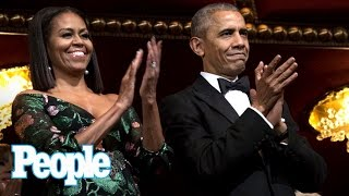 Download President Obama & Michelle Obama Attend Their Last Kennedy Center Honors Gala | People NOW | People Video