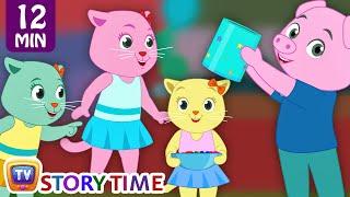 Download Kittens Vs Cheating Pigs Prank | Cutians Cartoon Comedy Show For Kids | ChuChu TV Funny Prank Videos Video