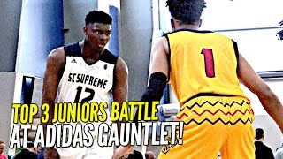 Download Zion Williamson vs Romeo Langford!! TOP 2 Juniors BATTLE It Out at Adidas Gauntlet! Video