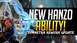Download Overwatch NEW HANZO ABILITY - First Look! & Symmetra and Torbjorn Rework Updates Video