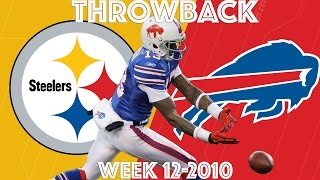 Download Steelers vs. Bills (Week 12, 2010) | ″Stevie Johnson Can't Hold On″ | NFL Classic Highlights Video