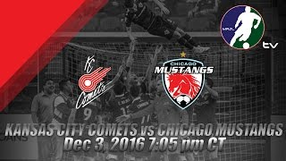 Download Kansas City Comets vs Chicago Mustangs Video