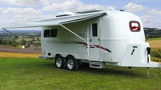 Download Luxury Fiberglass Camper by Oliver Travel Trailers | Small Travel Trailers Video