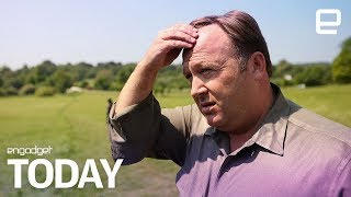 Download Alex Jones removed from Vimeo | Engadget Today Video