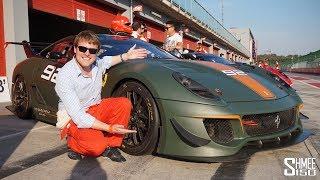 Download The Ferrari 599XX Evo is an EARGASM!   EXPERIENCE Video