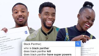 Download Black Panther Cast Answer the Web's Most Searched Questions | WIRED Video