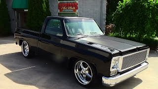 Download 77 Chevy C-10 Street Truck Griffey's Hot Rods and Restorations Video