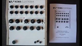 Download Koma Elektronik RH301 Understandable Demo for modular by TW Video