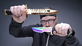 Download VIDEO GAME KNIVES IN REAL LIFE Video