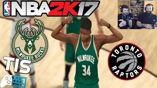 Download Milwaukee Bucks - Toronto Raptors   GAME 6   27/4/2017 - NBA 2K17 Video