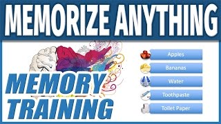 Download How to Memorize Fast and Easily | Improve Memory Training Techniques to Remember Anything Quickly Video