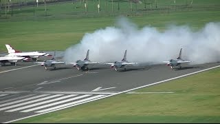 Download TJSJ Spotting: USAF Thunderbirds Departure! Video