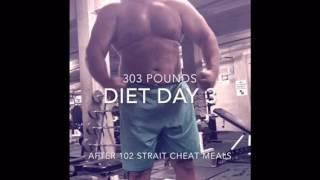Download 303 pounds posing flexassures Rex Video