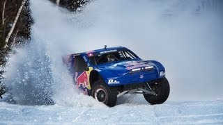 Download Red Bull Frozen Rush 2013 - Driving a 900-Horsepower truck on snow Video