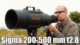 Download Sigma 200-500 mm f2.8: análisis Video