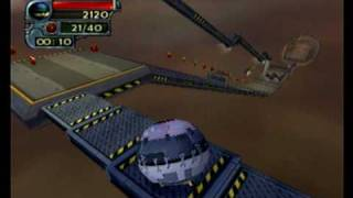 Download I-Ninja PS2 Gameplay Ninja Ball.ASF Video