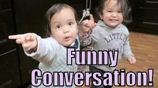 Download Twin's Funny Conversation! - January 19, 2016 - ItsJudysLife Vlogs Video