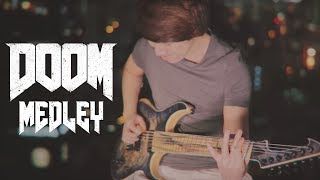 Download DOOM (2016) OST Medley - BFG Division and Rip & Tear by Mick Gordon (Guitar Cover) Video