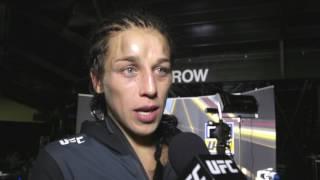 Download UFC 211: Joanna Jedrzejczyk Backstage Interview Video