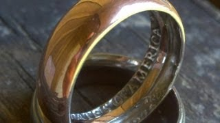 Download How To Make a Ring with a Coin in home (AMAZING) Video
