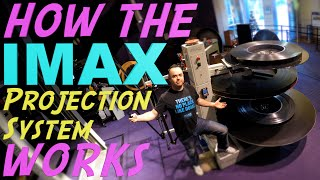 Download The Incredible Process of How a GIANT 70mm IMAX Film is Played Video