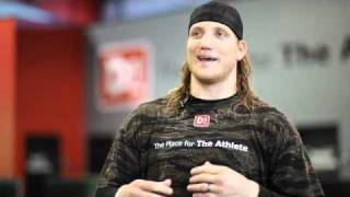 Download AJ Hawk Off-Season Power Training Video