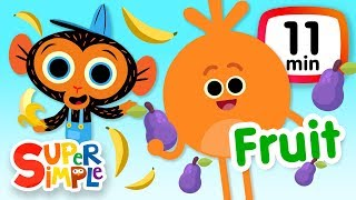 Download The Super Simple Show - Fruits & Vegetables | Kids Songs & Cartoons Video