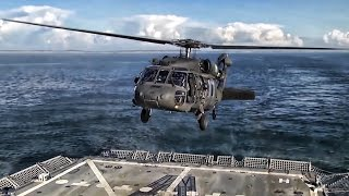 Download Helicopter Landing On Moving Navy Ship • It Takes Practice Video