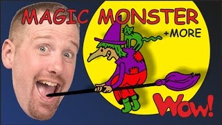 Download Magic Monster Stories for Kids from Steve and Maggie + MORE | Wow English TV Video