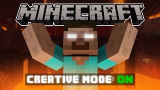 Download If Herobrine Had Creative Mode - Minecraft Video