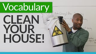 Download Learn basic English vocabulary for cleaning your house Video