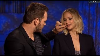 Download Chris Pratt Can't Stop Flirting With Jennifer Lawrence Video