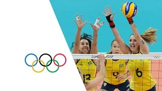 Download Women's Volleyball Pool B - USA v Brazil | London 2012 Olympics Video
