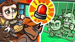 Download ПОБЕГ ИЗ ТЮРЬМЫ Money Movers #5 Полицейские догоняют преступников мультяшной игре Игра на двоих Video