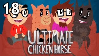 Download Ultimate Chicken Horse with Friends - Episode 18 - Double Hockey Sticks Video