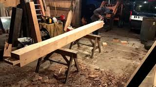 Download THE MOST OVERLOOKED TOOL YOU OWN AND SOME TIMBER FRAMING Video