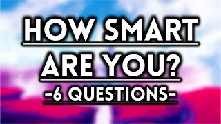 Download How Smart Are You For Your Age? - IQ Test! Video