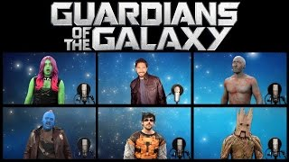 Download GUARDIANS OF THE GALAXY VOL 2 ACAPELLA MEDLEY (Ft. Chad Neidt) Video