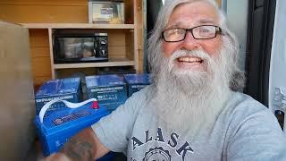 Download Full River AGM Golf Cart Battery Installation: My Van Build/Conversion #11 Video