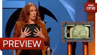 Download Catherine Tate puts minimiser bras into Room 101 - Room 101: Series 6 Episode 1 Preview - BBC One Video