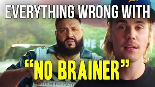 Download Everything Wrong With DJ Khaled - ″No Brainer ft. Justin Bieber, Chance The Rapper, Quavo″ Video