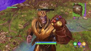 Download Fortnite:The power of THANOS (no talking) Video