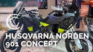 Download Husqvarna Norden 901 Concept - Salon EICMA 2019 - Nouveautés motos 2020 Video