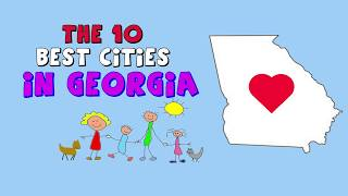 Download The 10 BEST PLACES to Live in GEORGIA Video