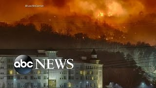 Download Tennessee Forest Fire Forces Mass Evacuation Video