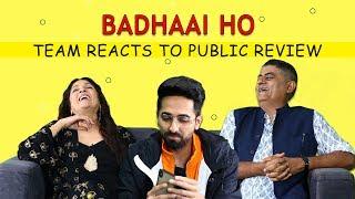 Download Badhaai Ho Trailer : Ayushmann Khurrana, Neena Gupta and Gajraj Rao react to public review Video