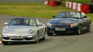 Download BMW Z4 vs. Porsche Boxster S #TBT - Fifth Gear Video
